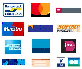 Bancontact en overschrijving